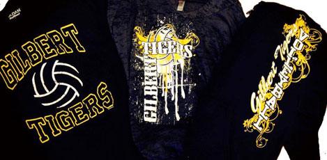 sports-team shirts